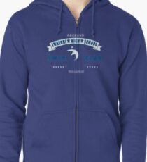 Free! Iwatobi Swim Club Shirt (Haruka, Vice-Captain) light blue Zipped Hoodie