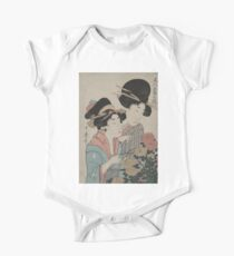 September - Utamaro Kitagawa - 1890 One Piece - Short Sleeve
