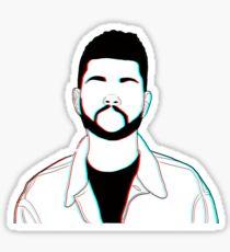 The Weeknd Starboy Sticker
