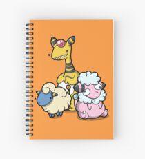 Electric sheep Spiral Notebook