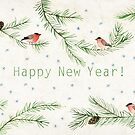 Happy New Year! by Oksana Tarasova