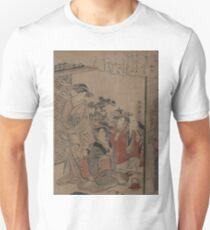 Sake cup - Kyoden Santo - 1783 Unisex T-Shirt