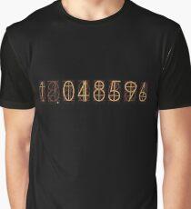 Steins Gate - 1.048596 Divergence Ratio Graphic T-Shirt