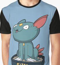 Cutey Kitty Graphic T-Shirt