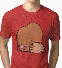 Chubby Pigs Tri-blend T-Shirt