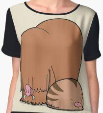 Chubby Pigs Women's Chiffon Top