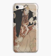 Otomo no kuronushi - Utamaro Kitagawa - 1804 iPhone Case/Skin