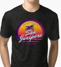 San Junipero Black Mirror Together Forever Tri-blend T-Shirt