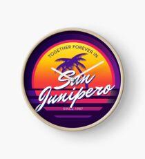 San Junipero Black Mirror Together Forever Clock
