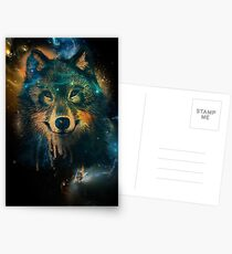 Galaxy Wolf Postcards