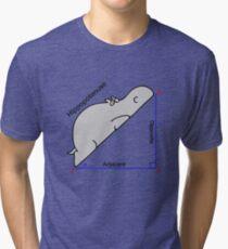 Hippopotenuse Tri-blend T-Shirt
