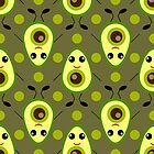 Cute Avocado by Koaladesign