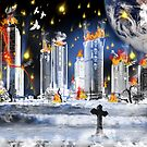 City Of The Dead...when worlds collide by WildestArt