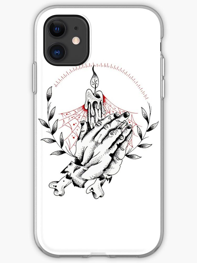 zombies hands iphone case