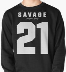 21 Savage Jersey Pullover