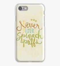 Spinach Puffs iPhone Case/Skin