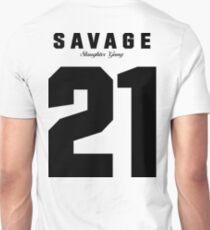 21 Savage Jersey (BLACK) T-Shirt