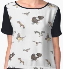 Birds of Prey Women's Chiffon Top