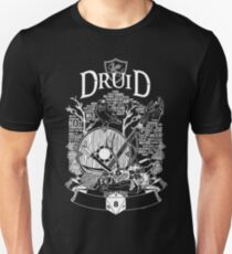 RPG Class Series: Druid - White Version T-Shirt