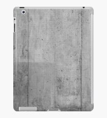 Off Form Concrete Texture 1 iPad Case/Skin