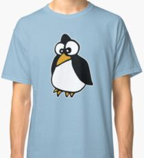 penguin penguin linux cartoon Classic T-Shirt
