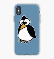 penguin penguin linux cartoon iPhone Case