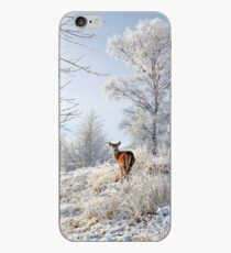 Glen Shiel Misty Winter Deer iPhone Case