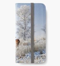 Glen Shiel Misty Winter Deer iPhone Wallet/Case/Skin