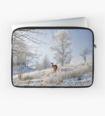 Glen Shiel Misty Winter Deer Laptop Sleeve