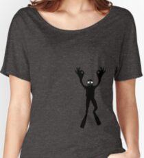 OK DIVER Women's Relaxed Fit T-Shirt