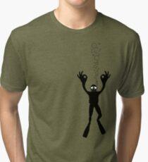 OK DIVER Tri-blend T-Shirt