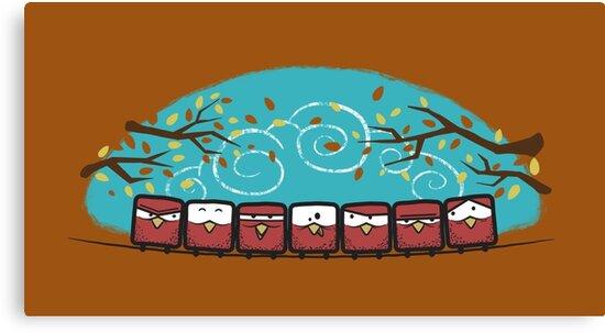 Autumn Gathering by Dragan Radujko