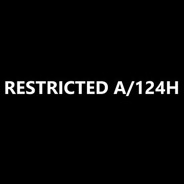 RESTRICTED A/124H - HUMANS by GaiaKi