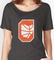 Cleveland Ohio Basketball Vintage Women's Relaxed Fit T-Shirt