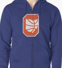 Cleveland Ohio Basketball Vintage Zipped Hoodie
