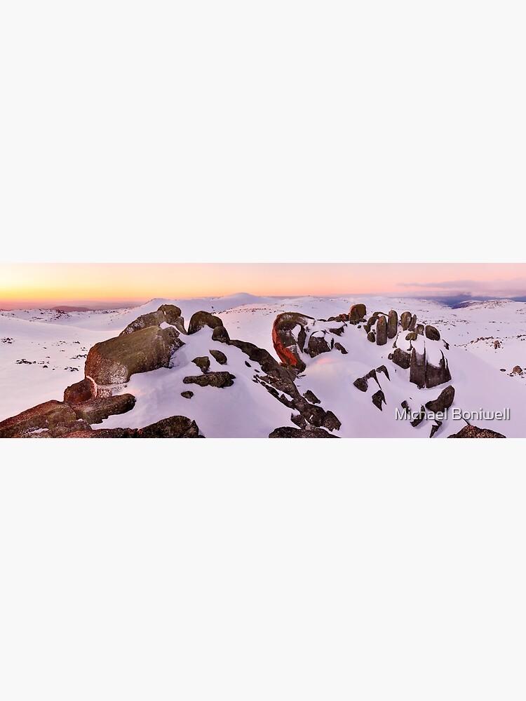 Summit from North Rams Head, Mt Kosciuszko, New South Wales, Australia by Chockstone