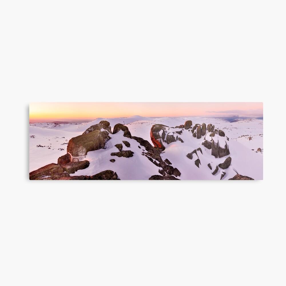 Summit from North Rams Head, Mt Kosciuszko, New South Wales, Australia Metal Print