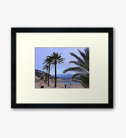 Evening Time In Port de Soller.................................Majorca Framed Print