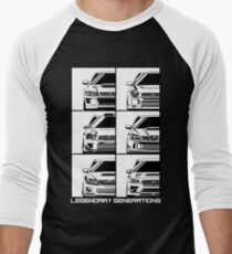 Impreza Generations Men's Baseball ¾ T-Shirt