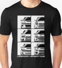 Impreza-Generationen Slim Fit T-Shirt