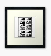 Impreza Generations Framed Print