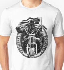 Motorcycle Chopper Stickers T-Shirt