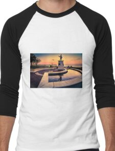 Ponce De Leon at Sunset Men's Baseball ¾ T-Shirt