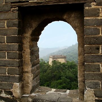 Portal of Great Wall of China by probono