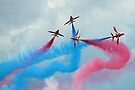 The Red Arrows Gypo Break - Dunsfold 2014 by Colin  Williams Photography