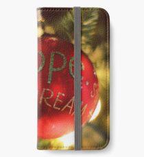 Hope Dream iPhone Wallet/Case/Skin