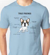True Friends Frenchie  T-Shirt