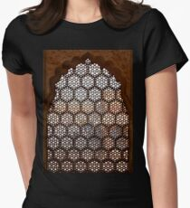 Marble Viewport Women's Fitted T-Shirt