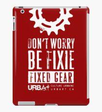 UrbArt® - Fixed gear-01 iPad Case/Skin