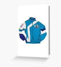 Hornets Windbreaker Jacket Greeting Card